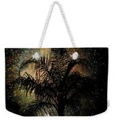 Palm Tree Fireworks Weekender Tote Bag