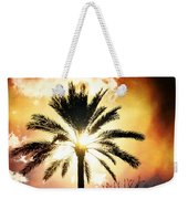 Palm Tree In The Sun #2 Weekender Tote Bag