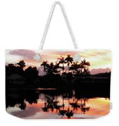 Palm Tree Inlet 2 Weekender Tote Bag