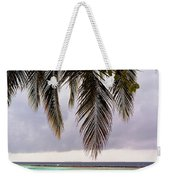 Palm Tree Leaves At The Beach Weekender Tote Bag