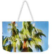 Palm Tree Needs A Chiropractor Painterly I Weekender Tote Bag