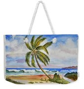 Palm Tree Ocean Scene Weekender Tote Bag