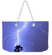 Palm Tree On Strike Weekender Tote Bag