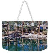 Palm Tree Reflections Weekender Tote Bag