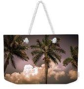Palm Trees Against Beautiful Sky Weekender Tote Bag