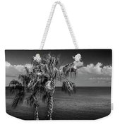 Palm Trees In Black And White At Laguna Beach Weekender Tote Bag