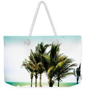Palm Trees Ocean Breeze Weekender Tote Bag