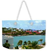 Palm Trees Of Oyster Bay Weekender Tote Bag