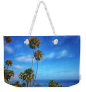 Palm Trees On The Pacific Weekender Tote Bag