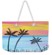 Palm Trees Weekender Tote Bag