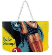 Palmers - Halb-strumpf - Vintage Germany Advertising Poster Weekender Tote Bag