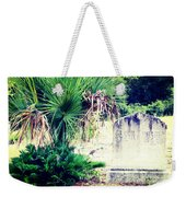 Palmetto And Head Stone Weekender Tote Bag