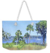 Palmetto Bluff Backyard Weekender Tote Bag