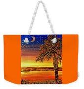 Palmetto Sunset  Weekender Tote Bag