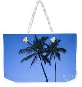 Palms And Blue Sky Weekender Tote Bag