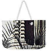Palms And Columns Weekender Tote Bag