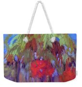 Palms And Flowers Weekender Tote Bag