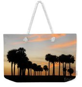 Palms At Sunset Weekender Tote Bag