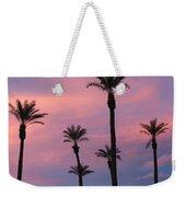 Palms At Sunset Weekender Tote Bag