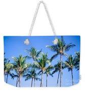 Palms In Living Harmony Weekender Tote Bag