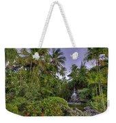 Palms Pool Weekender Tote Bag