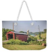 Palos Covered Bridge Weekender Tote Bag