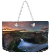 Palouse Falls Sunrise Weekender Tote Bag
