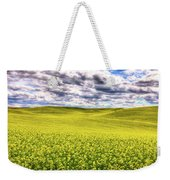 Palouse Hills Canola Weekender Tote Bag