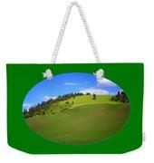 Palouse - Landscape - Transparent Weekender Tote Bag