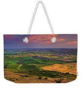 Palouse Skies Ablaze Weekender Tote Bag