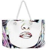 Pamela  Anderson Portrait Weekender Tote Bag