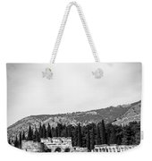 Paragliding Over The Ruins Of Pamukkale Weekender Tote Bag