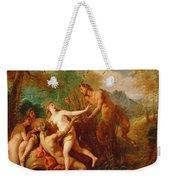 Pan And Syrinx Weekender Tote Bag