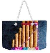 Pan Flute Weekender Tote Bag