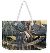 Panama Canal Cartoon, 1904 Weekender Tote Bag