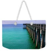 Panama City Beach Pier Weekender Tote Bag