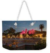 Panama Fountain Weekender Tote Bag