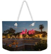 Panama Fountain Weekender Tote Bag