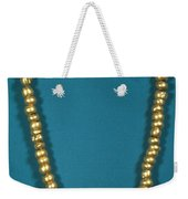 Panama: Gold Beads, C1000 Weekender Tote Bag