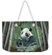 Panda Love Weekender Tote Bag
