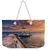 Pandanon Island Sunset Weekender Tote Bag