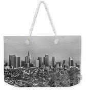 Pano Los Angeles City Black White Weekender Tote Bag
