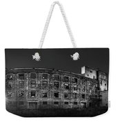 Pano Of The Fort William Starch Company At Sunset Weekender Tote Bag
