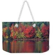 Panorama Fall Color Moccasin Lake Upper Peninsula Mi Weekender Tote Bag