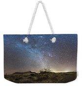 Panorama Of Milky Way And Zodiacal Weekender Tote Bag