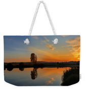 Panorama Of Sunset Weekender Tote Bag