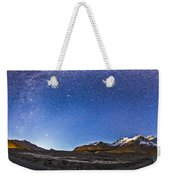 Panorama Of The Columbia Icefields Weekender Tote Bag