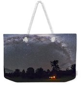 Panorama Of The Southern Night Sky Weekender Tote Bag