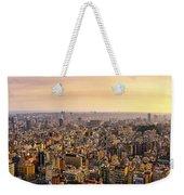 Panoramic Barcelona Weekender Tote Bag