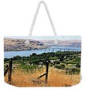 Panoramic Columbia River  Weekender Tote Bag